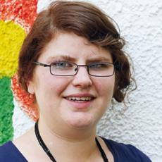 Doris Grasruck, Erzieherin und stellvertretende Leitung in Obermenzing